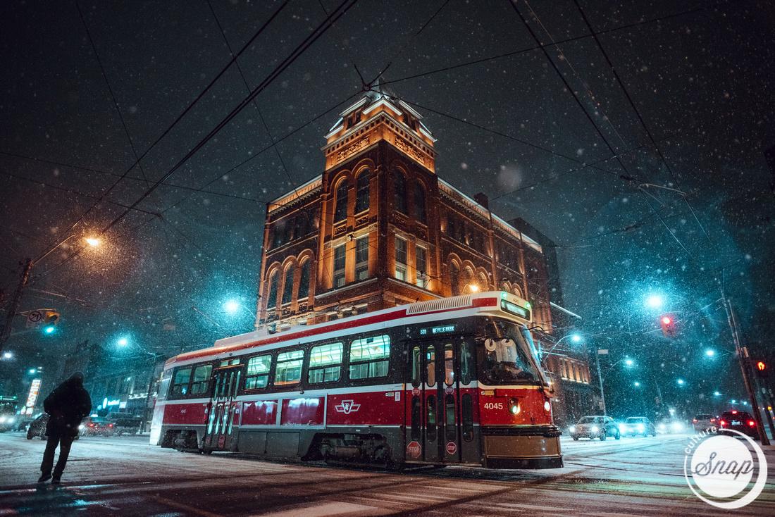 Broadview Hotel Snowfall