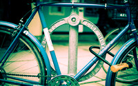Lock Bicycle to Post